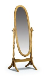 Pickwick cheval mirror - More Than Beds, Bangor