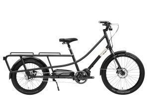 Creme Happy Wagon - schwarz, Lasten Fahrrad, unisize