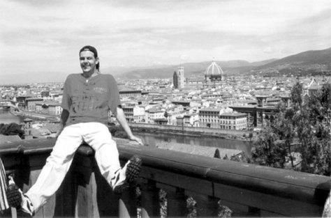 extrait du Passant Florentin, le livre de Denis Gentile paru en 2001 (disponible sur amazon en cliquant sur la photo)