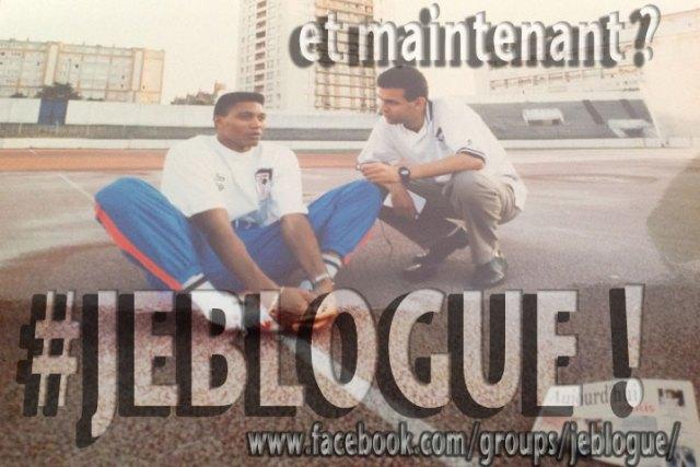 En interview avec le champion (et recordman du monde) français Bruno Marie-Rose. Une autre image du passé. Le présent, c'est #jeblogue.