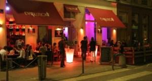 La terrasse de l'Evolution Bar à Lyon