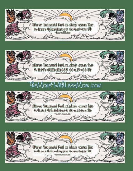 Printable Kindness Cards