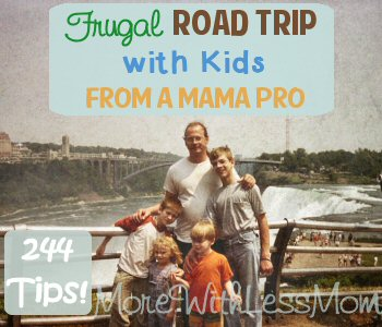 Frugal Road Trip with Kids from a Mama Pro