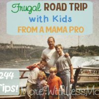 Frugal Road Trip with Kids - Tips from a Mama Pro