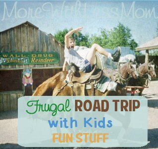 Frugal Road Trip with Kids – Fun Stuff from The More With Less Mom