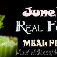July 2014 Real Food Monthly Meal Plan