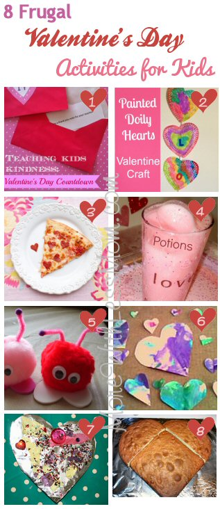 8 Frugal Valentine's Day Activities for Kids