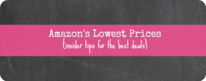 amazons lowest prices