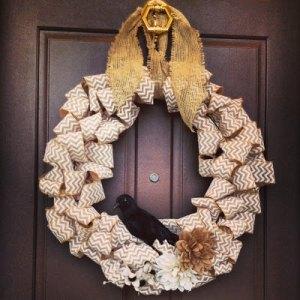 chevron wreath 4 2013