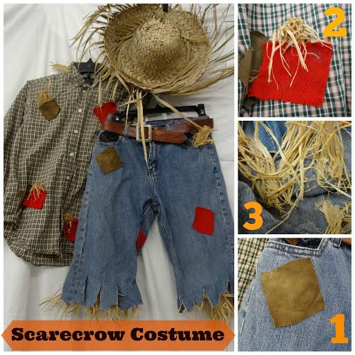 easy DIY costumes Goodwill, costume ideas using Goodwill items, make your own DIY children's costumes, OCGoodwill Halloween costumes