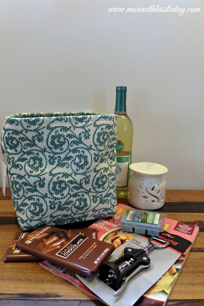 Create a Pampering Gift Basket with Dollar General