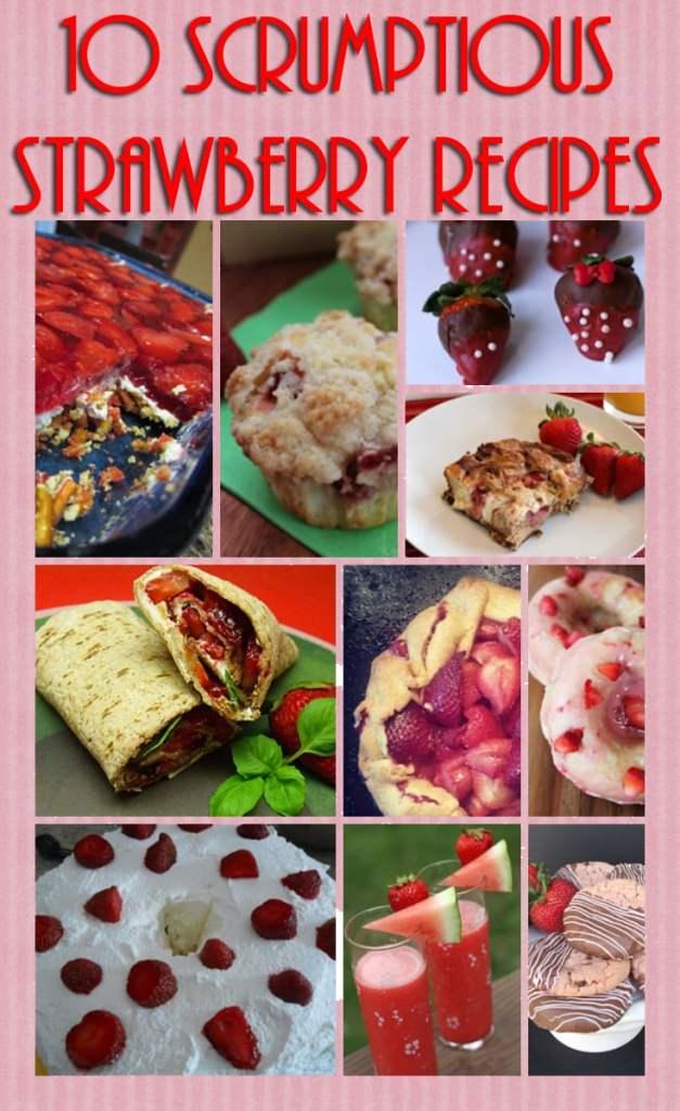strawberry recipes-using strawberries in recipes- strawberry dessert recipes-strawberry and basil wrap recipe-chocolate dipped strawberry recipe