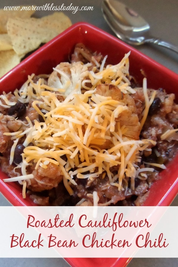 easy roasted Cauliflower Chili, recipe chili made with Cauliflower, using Cauliflower as a substitute recipes, chili chicken recipes