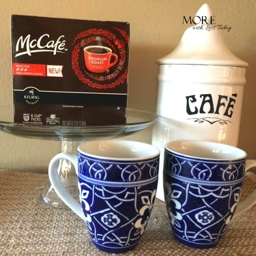 McCafe coffee is now in the grocery aisle, review of McCafe coffee, coffee dessert recipes, coffee dessert ideas, using leftover coffee grounds, McCafe