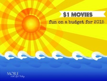 Regal Cinemas summer movies for $1- family friendly summer movies for $1, movies for kids in the summer- list of kid friendly movies Regal Theaters