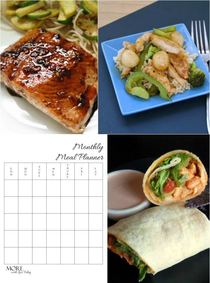 Planning Meals for the Busy Back-to-School Season - More With Less Today - Make Meal Planning Healthy Meals Easier During the Back-to-School Rush