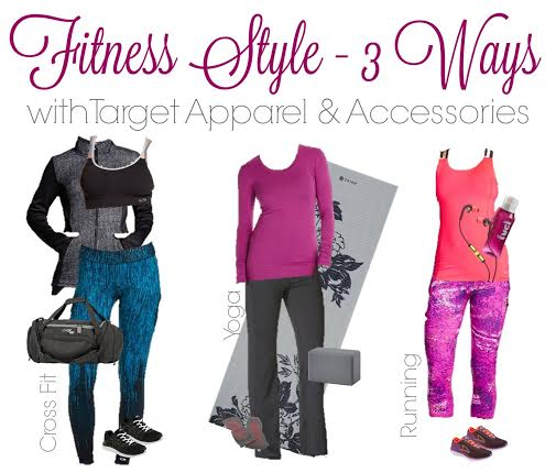 Do you live in your workout clothes? We put together Target Fitness Style - 3 Ways with outfits for cross fit, yoga and running.