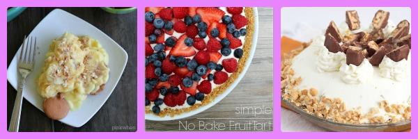 easy no bake recipe fruit tart