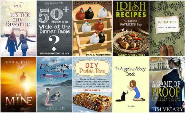 10 Free Kindle Books 2-7-16
