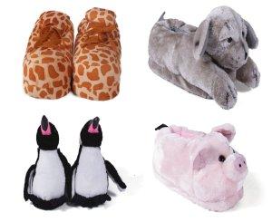 happy feet slippers seen on GMA