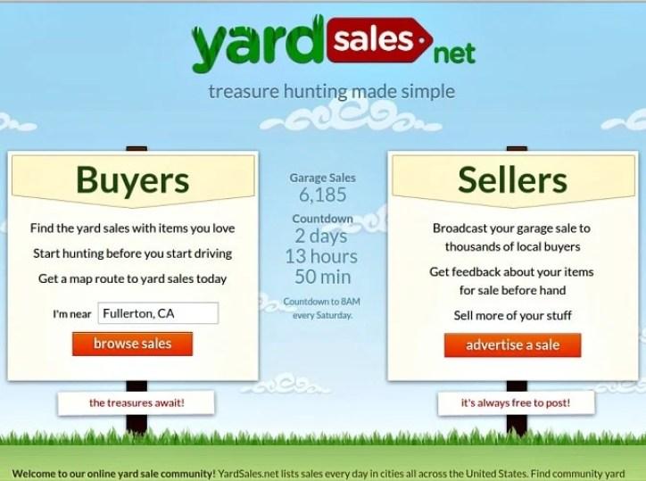 yard sale post 1