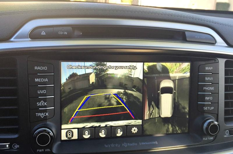 2016 Kia Sorrento SXL AWD navigation and back up camera
