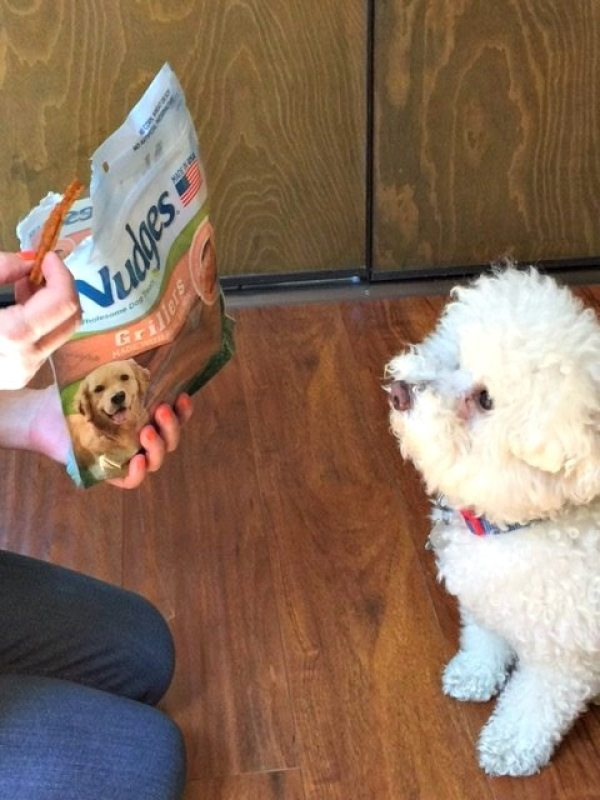 Nudges dog treats are made with healthy ingredients