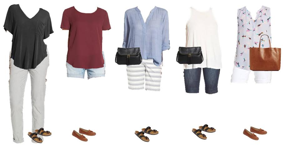 Nordstrom Capsule Wardrobe mix and match styles