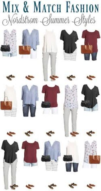 Are you looking for a Nordstrom capsule wardrobe for affordable summer style? We found stylish items to pack for your summer trip.