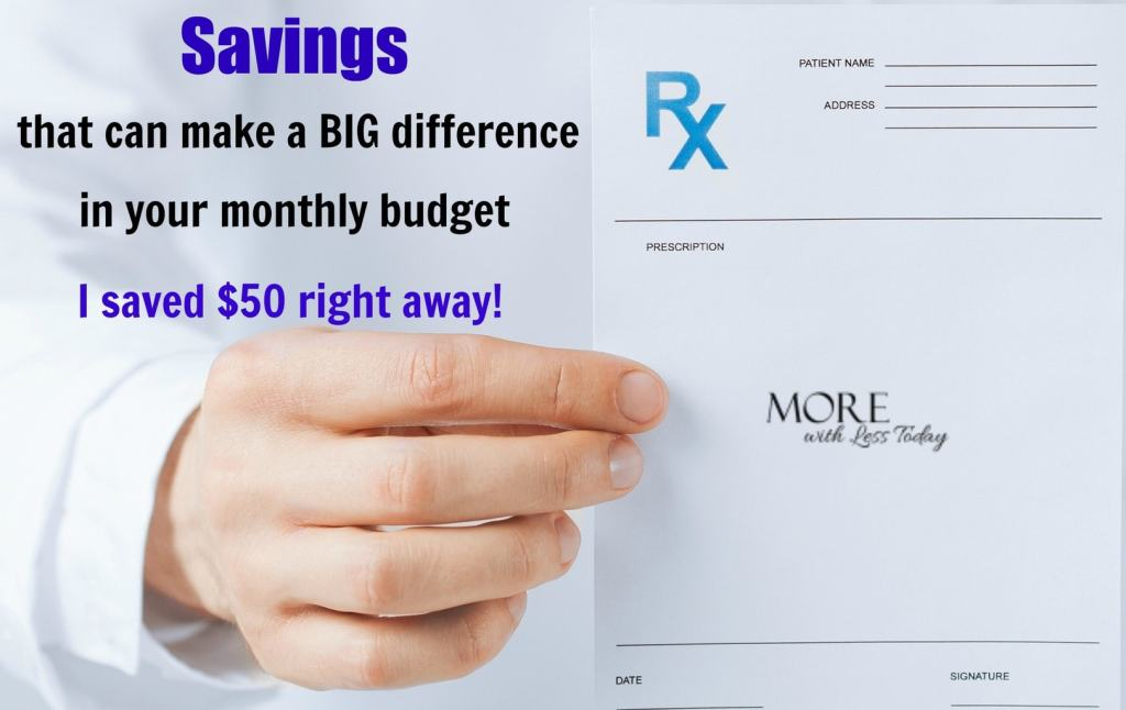 Are you looking for ways to save money before the holidays are upon us? I found a way to quickly save money with a free discount card from WellRx.