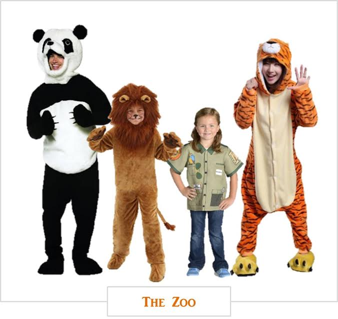 Halloween-costumes for families