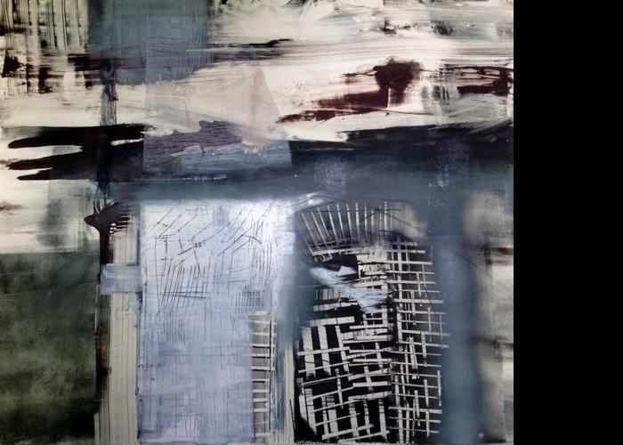 'Stack', monoprint, 80 x 80 cm, £1,200
