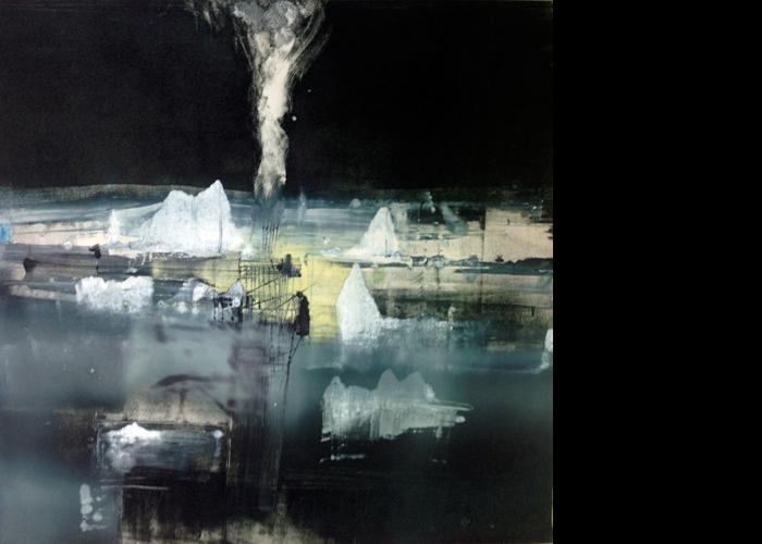 'Icebergs', monoprint, 60 x 60 cm, £950