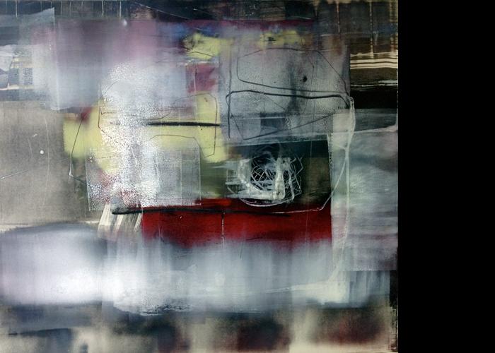 'Thumbleweed', monoprint, 60 x 60 cm, £950