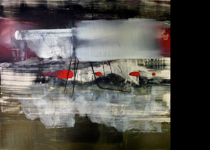 'Icefield', monoprint, 60 x 60 cm, £950