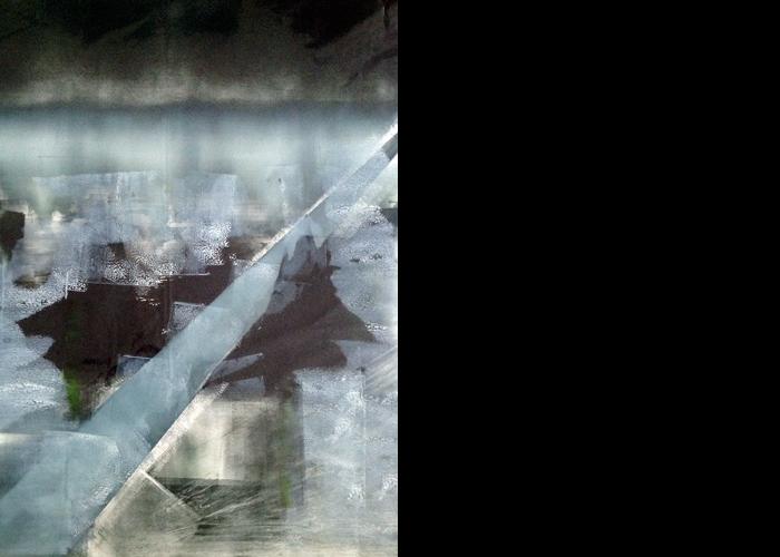 'Icestorm', monoprint, 70 x 60 cm, £1,100