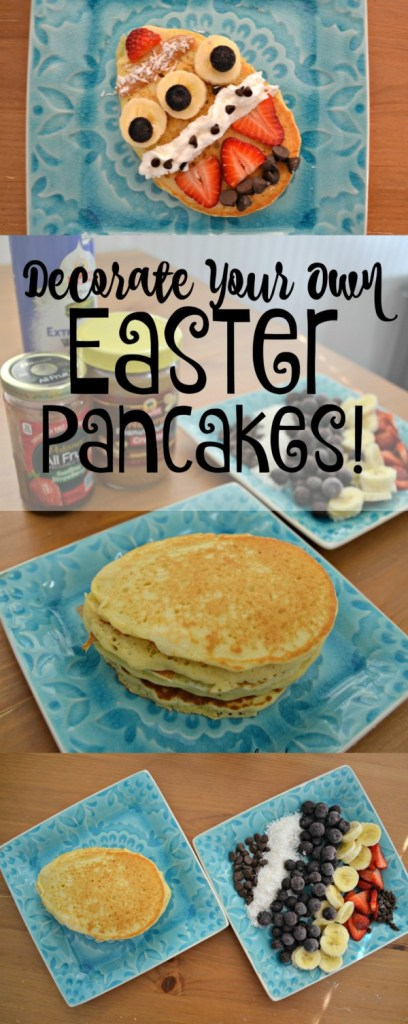 Decorate Your Own Easter Pancakes Morgan Manages Mommyhood