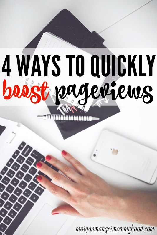 Looking to quickly boost pageviews? Read on to learn 4 different tactics to boost pageviews and hit your daily goals!
