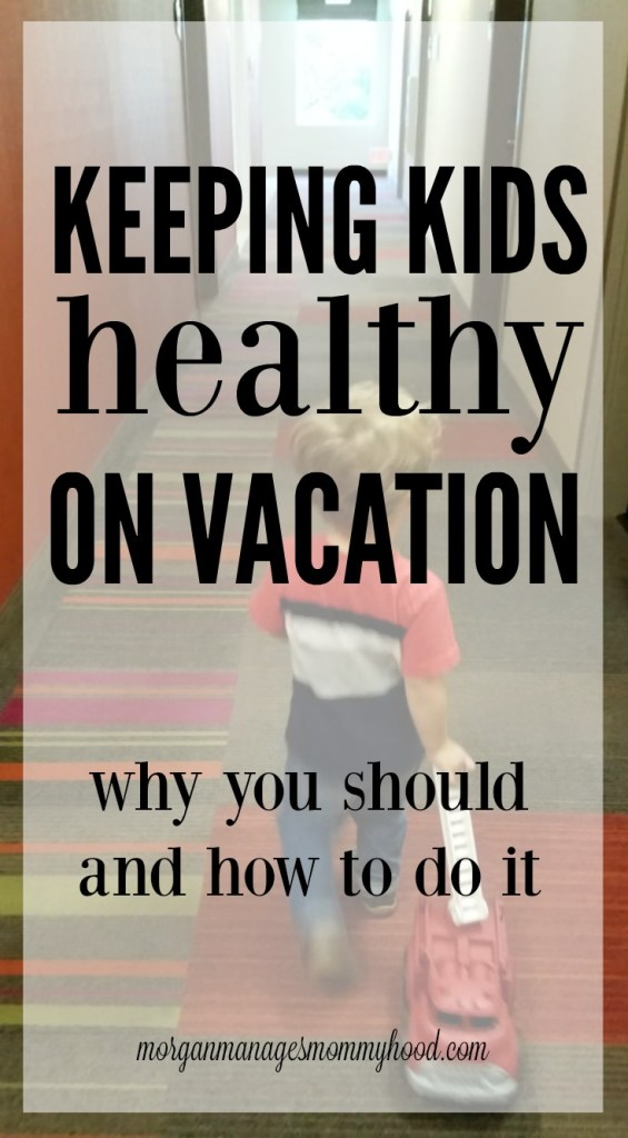 Make the transition from vacation back to normal life by keeping kids healthy on vacation. Read on for 3 reasons why you need to worry about it and 4 ways to do it.