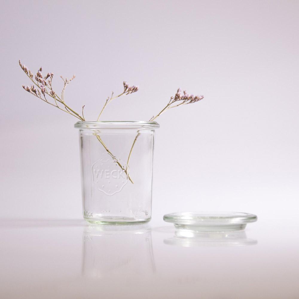 Gläschen als Vase