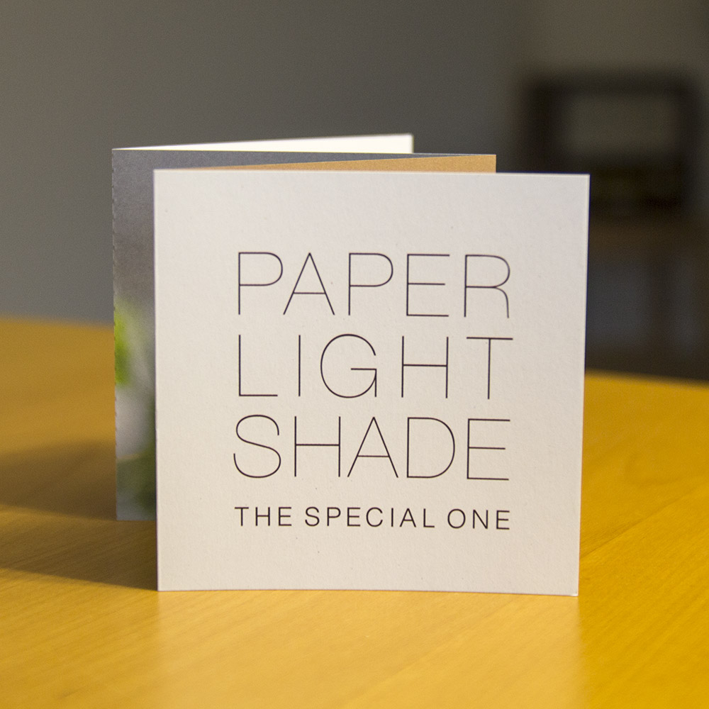 Die neuen Info-Folder für unsere Paper Light Shades sind da!!!