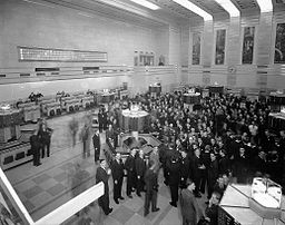 Stock Traders at Toronto Stock Exchange in 1937