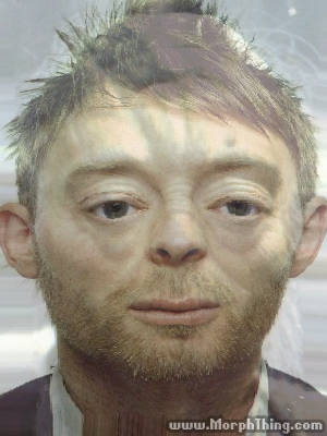 Thom Yorke's Face Combined with Yoda -
