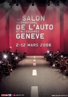 Les affiches du salon de gen ve morrissette racing - Affiche salon de l auto ...