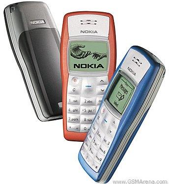 The Nokia 1100