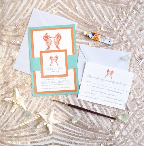 Medium Of Letterpress Wedding Invitations