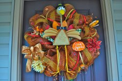 Small Of Thanksgiving Door Decorations