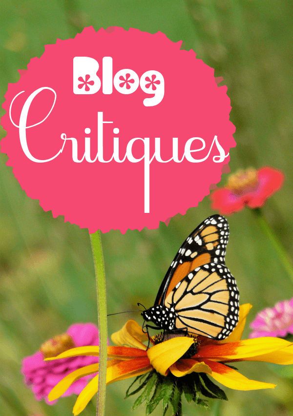 MostlyBlogging offers a Blog Critique Service