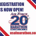 Commit to Air Force Marathon Today