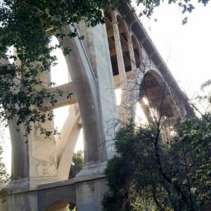 Colorado Street Bridge, Arroyo Seco, Pasadena CA Hike